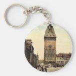 The Altportel, Speyer, the Rhine, Germany rare Pho Basic Round Button Keychain