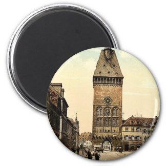 The Altportel, Speyer, the Rhine, Germany rare Pho Magnet
