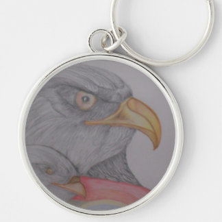 The Always Watching Eagles Keychain