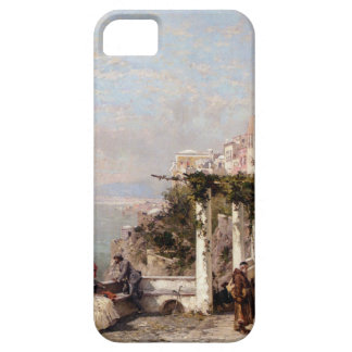 The Amalfi Coast by Franz Richard Unterberger iPhone SE/5/5s Case
