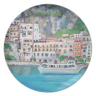 The Amalfi Coast - Plates