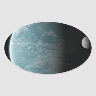 The Amazing Earth Oval Sticker