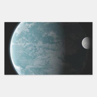 The Amazing Earth Rectangular Sticker
