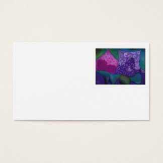 The Amazing Hideaway - Purple and Magenta Heaven Business Card