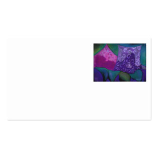 The Amazing Hideaway - Purple and Magenta Heaven Business Cards