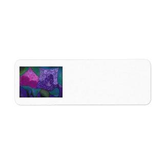 The Amazing Hideaway - Purple and Magenta Heaven Label