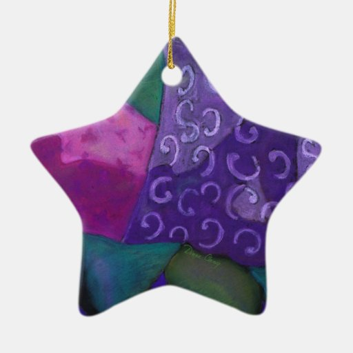 The Amazing Hideaway - Purple and Magenta Heaven Christmas Tree Ornaments