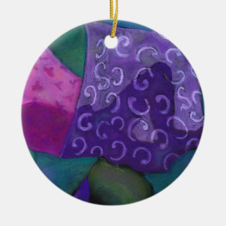 The Amazing Hideaway - Purple and Magenta Heaven Ornaments