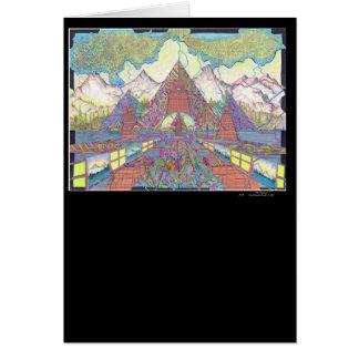 The Amazing Pyramid MazeScape Card