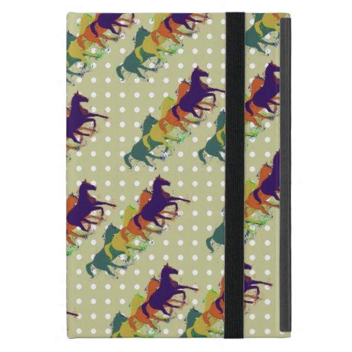 the amazing running horses cover for iPad mini