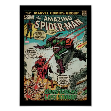 The Amazing Spider-Man Comic #122 Poster
