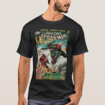 """The Amazing Spider-Man Comic #122 T-Shirt<br><div class=""""desc"""">Check out this retro Spider-Man comic cover for issue number 122,  featuring Spider-Man battling Green Goblin for murdering his love Gwen Stacy.</div>"""