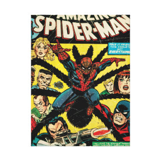 The Amazing Spider-Man Comic #135 Canvas Print