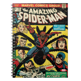 The Amazing Spider-Man Comic #135 Notebook