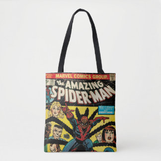 The Amazing Spider-Man Comic #135 Tote Bag