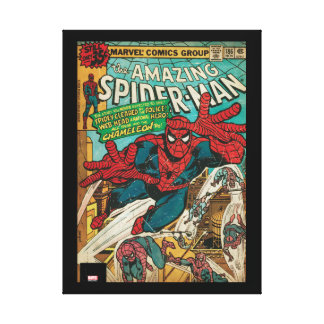 The Amazing Spider-Man Comic #186 Canvas Print