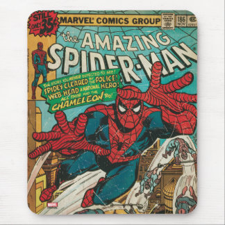 The Amazing Spider-Man Comic #186 Mouse Pad