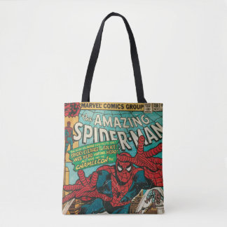 The Amazing Spider-Man Comic #186 Tote Bag