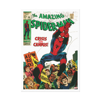 The Amazing Spider-Man Comic #68 Canvas Print