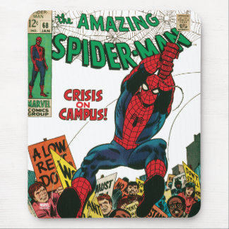 The Amazing Spider-Man Comic #68 Mouse Pad