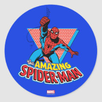 The Amazing Spider-Man Graphic Classic Round Sticker