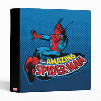 The Amazing Spider-Man Logo Binder