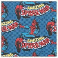 The Amazing Spider-Man Logo Fabric