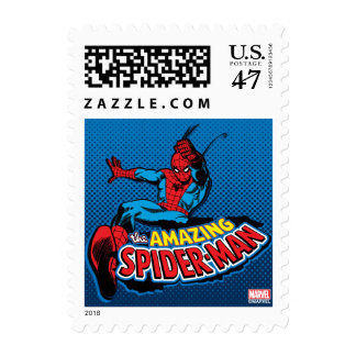 The Amazing Spider-Man Logo Postage