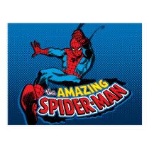 The Amazing Spider-Man Logo Postcard