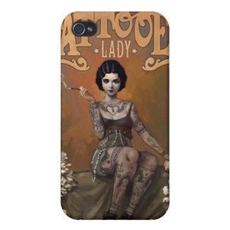 The Amazing Tattooed Lady iPhone 4 Case