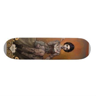 The Amazing Tattooed Lady Skateboard