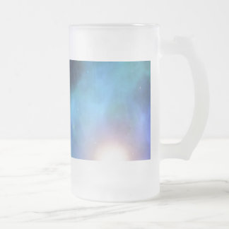 The Amazing Universe Frosted Glass Beer Mug