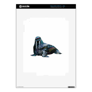 THE AMAZING WALRUS DECAL FOR iPad 2