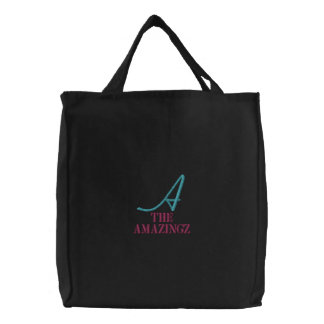 THE AMAZINGZ EMBROIDERED TOTE BAG