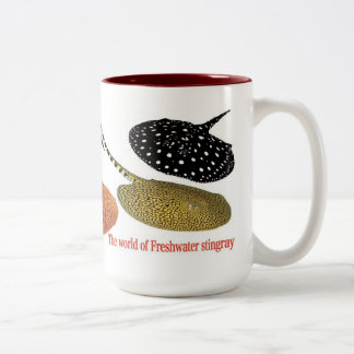 The Amazon fresh water thornback Two-Tone Coffee Mug