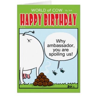 The Ambassador Greeting Card