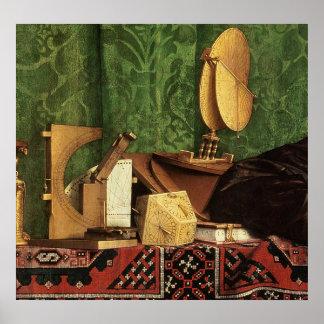 The Ambassadors, 1533 Poster