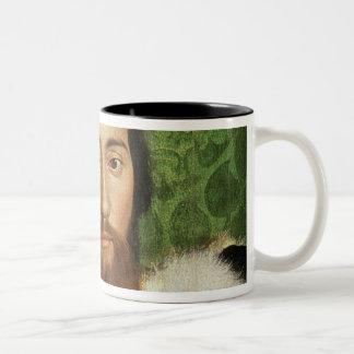 The Ambassadors, 1533 Two-Tone Coffee Mug