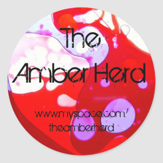 The Amber Herd Sticker