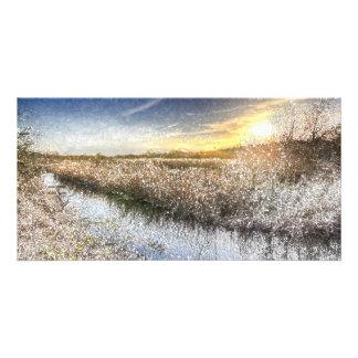 The Ambling River Art Card