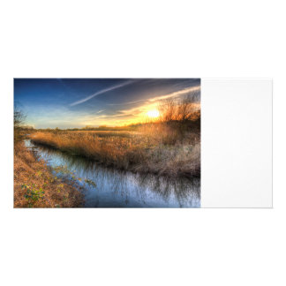 The Ambling River Card