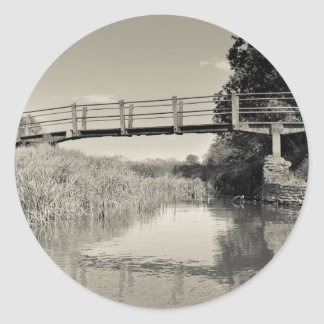 The Ambling River Classic Round Sticker