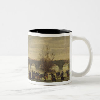 The Ambulance de la Presse at Joinville Two-Tone Coffee Mug