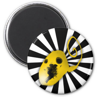 The ameba one 2 inch round magnet