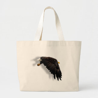 THE AMERICAN BALD EAGLE TOTE BAGS
