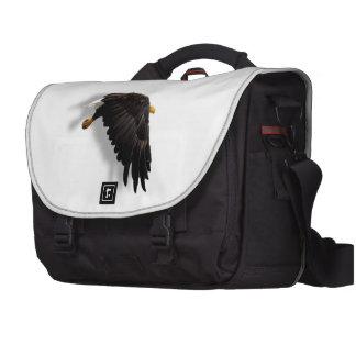 THE AMERICAN BALD EAGLE LAPTOP MESSENGER BAG