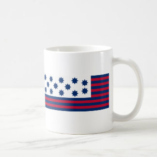 The American Battle of Guilford Courthouse Flag Classic White Coffee Mug