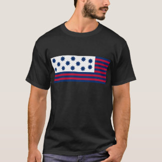 The American Battle of Guilford Courthouse Flag T-Shirt