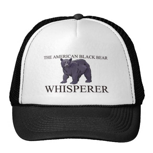 The American Black Bear Whisperer Mesh Hat