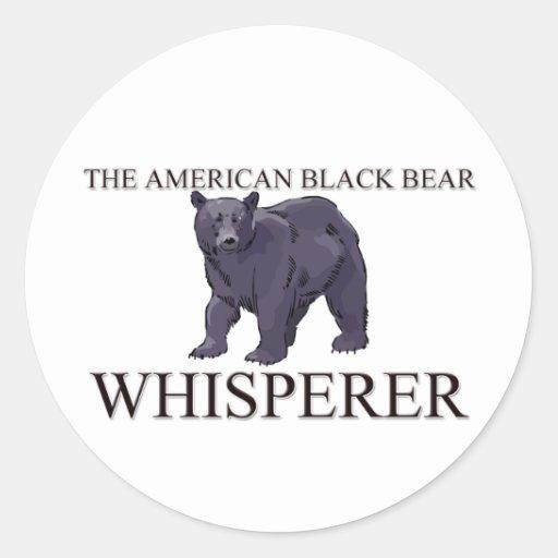 The American Black Bear Whisperer Sticker